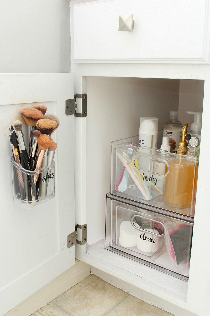 Bathroom Cabinet Organizer Ideas Clean And Scentsible