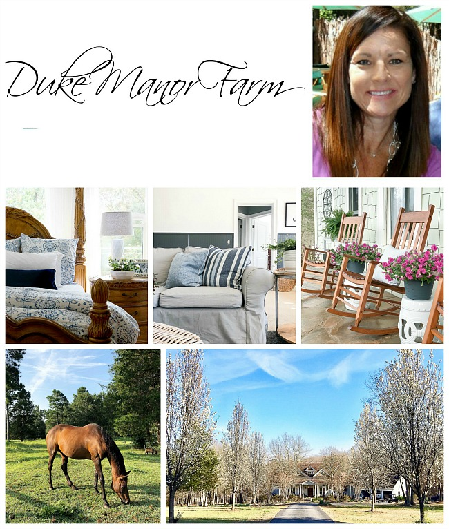 Home decor ideas from Duke Manor Farm.