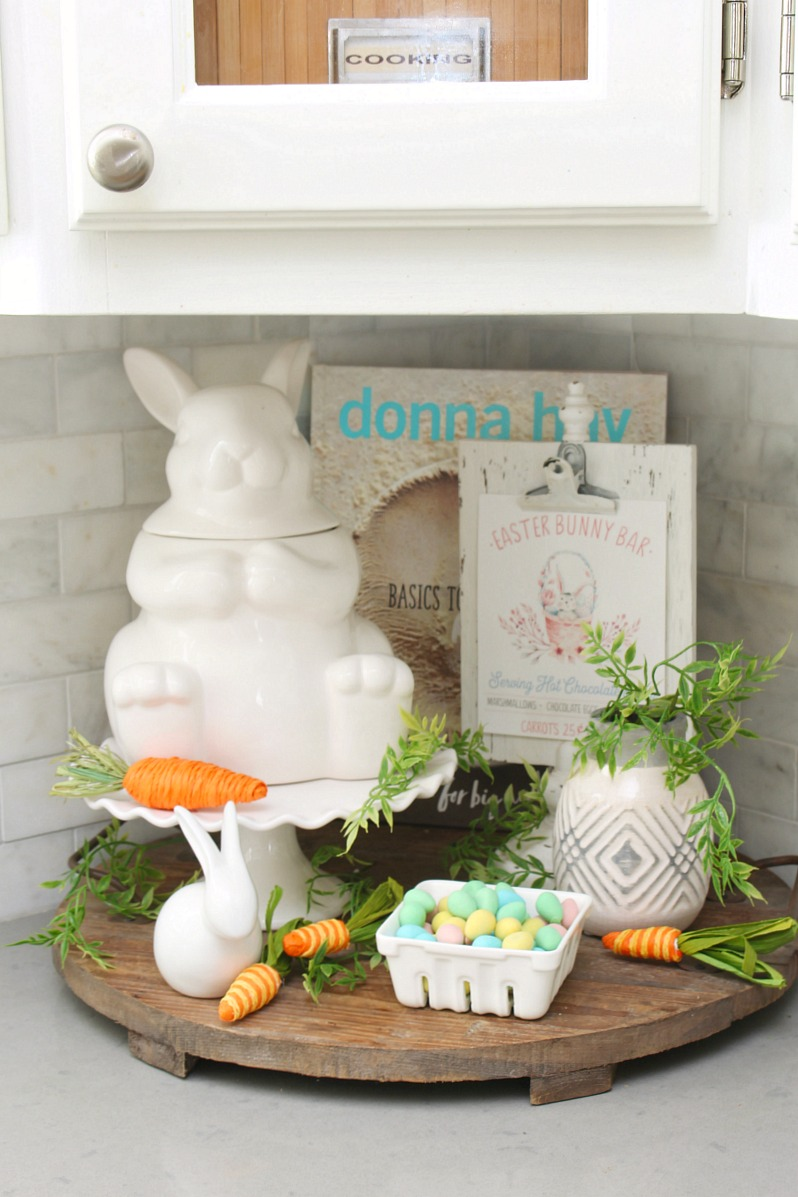 Spring and Easter Kitchen Decor - Clean and Scentsible