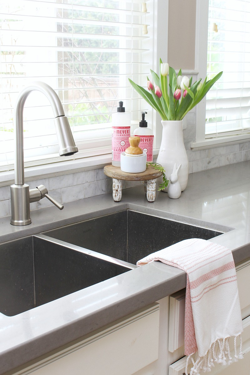 Spring And Easter Kitchen Decor Clean And Scentsible