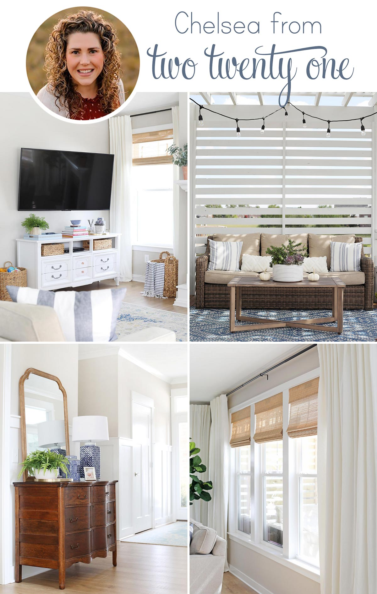 Home decor ideas from Two Twenty One.