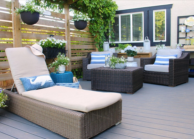 Outdoor Patio Design Ideas Clean And, Yum Tree Patio Furniture