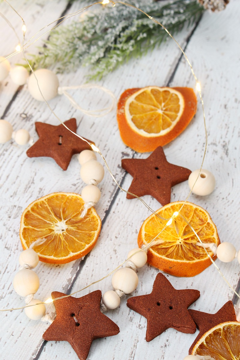 Diy Dried Orange Garland And Ornaments Clean And Scentsible