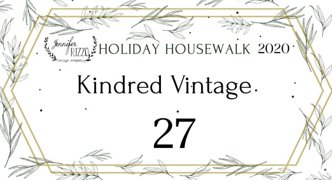 Holiday Housewalk Christmas Home Tour with Kindred Vintage.