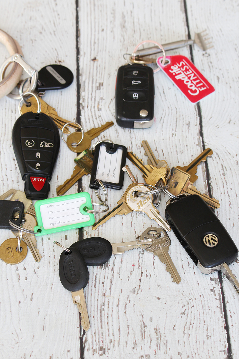 Collection of keys.
